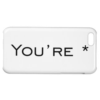 You re - Grammar Correction iPhone 5C Cases