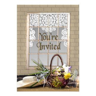 YOU RE INVITED - MULTI-PURPOSE - GARDEN WINDOW CUSTOM ANNOUNCEMENTS