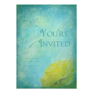 You re Invited - Multi-Purpose Invitation - Teal Personalized Announcements
