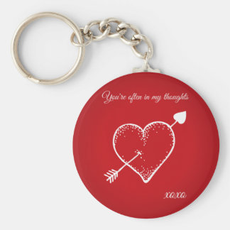 You're often in my thoughts Keychain