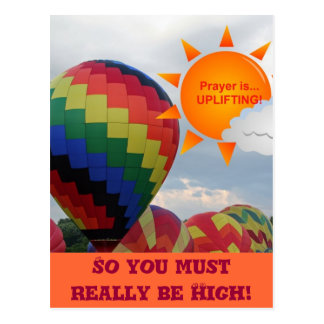 You Really Must be High Postcard