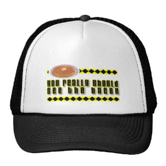 You Really Should See the Bacon Mesh Hats