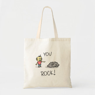You Rock! Cartoon. Tote Bag