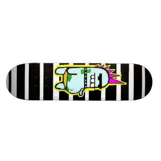 you rock those stripes, Teeny Custom Skate Board