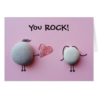 You Rock - Valentines Day Card