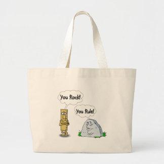 You Rock, You Rule Jumbo Tote Bag
