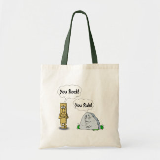 You Rock, You Rule Canvas Bags
