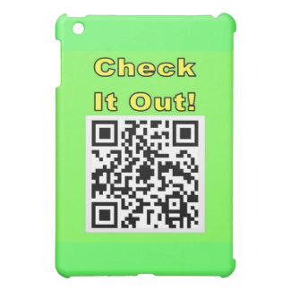You Scan Mine and I'll Scan Yours! Qr Message Cover For The iPad Mini