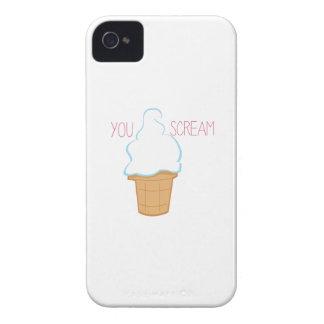 You Scream iPhone 4 Covers