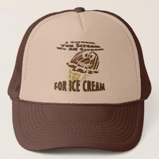 You Scream I Scream We All Scream Trucker Hat