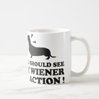 You Should My Wiener In Action Coffee Mug