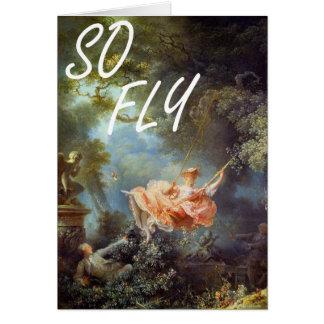 You So Fly Card