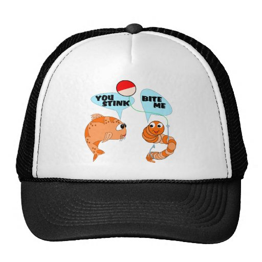 You Stink Bite Me Trucker Hat