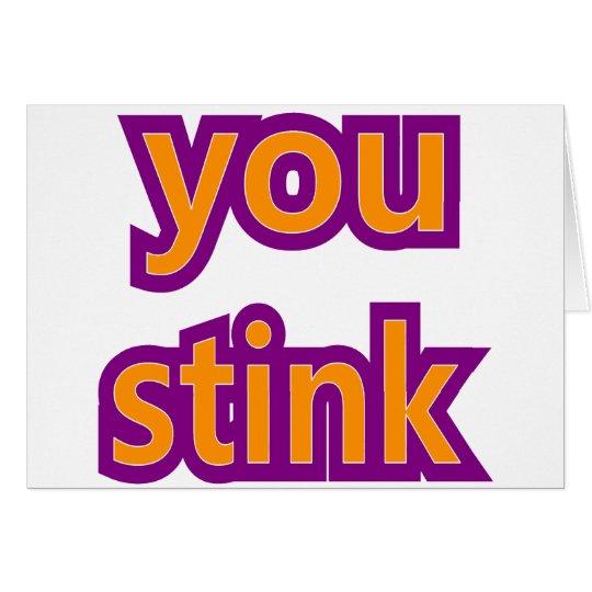 You Stink Skins Card