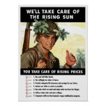 You Take Care Of Rising Prices -- WWII Posters