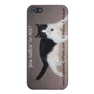 You talkin' to ME? California CAt Products iPhone 5/5S Cases