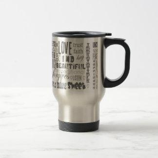 You Very Favorite LOVE quotation Travel Mug