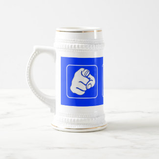 You W Anchor Funny Beer Stein