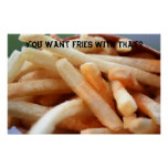 You Want Fries With That? Poster