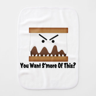 You Want S'more Of This? Burp Cloths