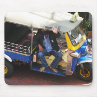 You want TAXI TUK-TUK? Mouse Pad