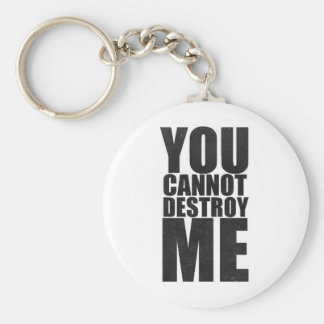 You wasted boat me basic round button key ring