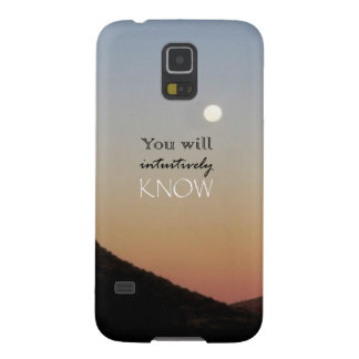 You Will Intuitively Know Case For Galaxy S5