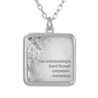 You Will Make It Silver Plated Necklace