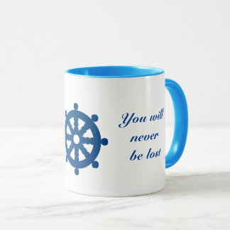 You will never be lost - Luck Mug