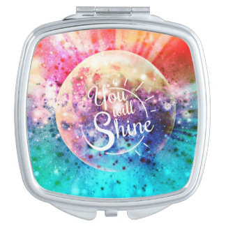 You Will Shine Travel Mirror
