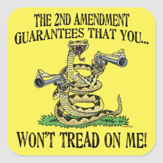 You Won t Tread on Me Stickers