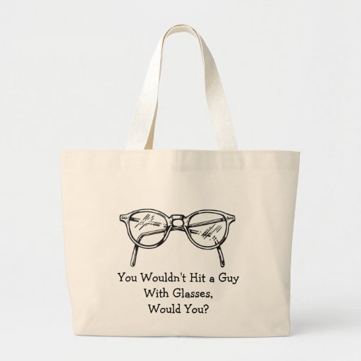 You wouldn't hit a car with glasses, would you? bags