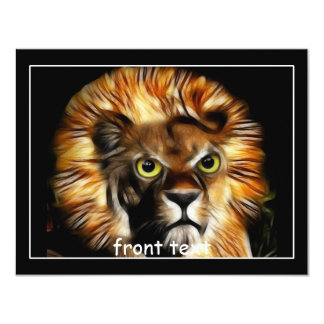 You wouldn't want to see me Angry.... 11 Cm X 14 Cm Invitation Card