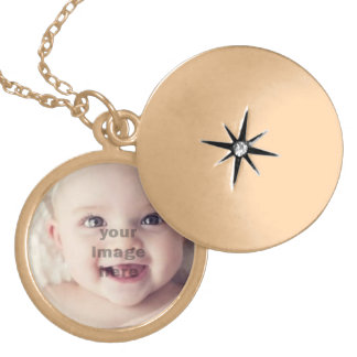 youe image here gold plated necklace