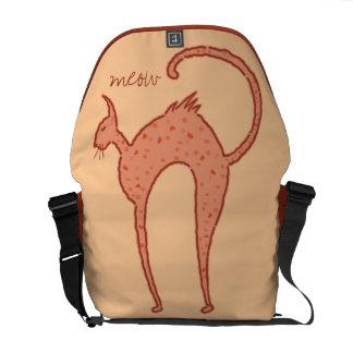 Youko Meow Cat medium Commuter Bag