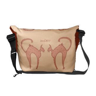 Youko Meow Cats medium Commuter Bags