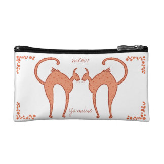 Youko Meow Cats small Makeup Bag