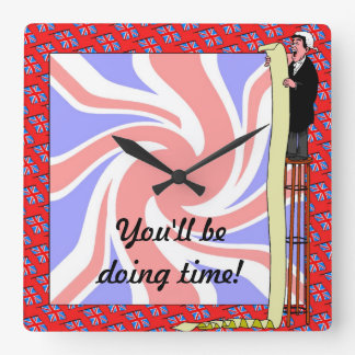 You'll be doing time square wall clock