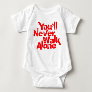 you'll never walk alone baby bodysuit
