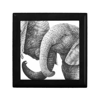 Young African Elephants Gift Box