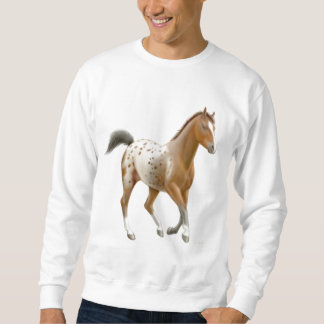 Young Appaloosa Horse Sweatshirt
