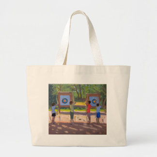 Young Archers 2012 Large Tote Bag