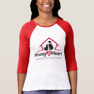 Young at Heart Baseball Style Shirt