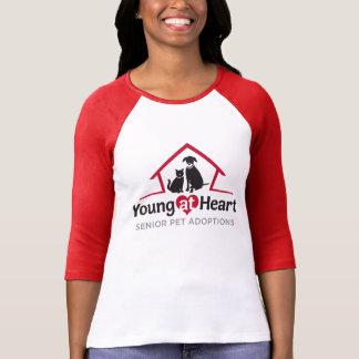 Young at Heart Baseball Style Shirt