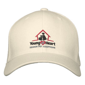 Young at Heart embroidered hat