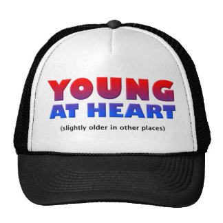 Young At Heart Funny Ball Cap Hat