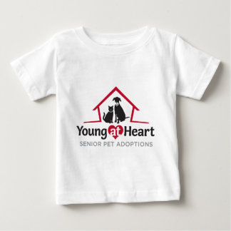 Young at Heart logo Baby T-Shirt