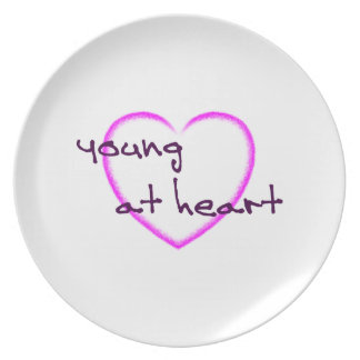 Young at heart plate