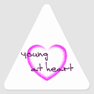 Young at heart sticker