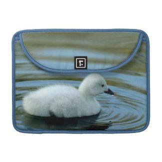 Young Black Neck Swan Macbook Pro Sleeve